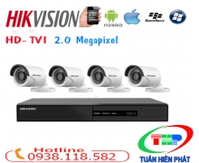 TRỌN BỘ CAMERA HIKVISION( DS-2CE16D1T-IRP)