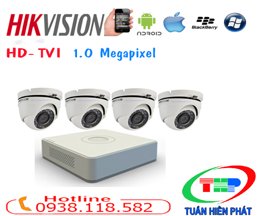 TRỌN BỘ CAMERA HIKVISION(DS-2CE56C2T-IT3)